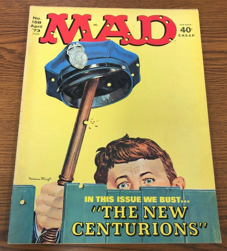 Mad #158 VG; E.C | low grade comic - save on shipping - details inside
