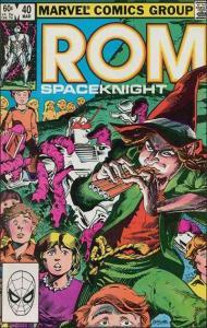 Marvel ROM #40 FN+