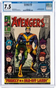 Avengers #30 (Marvel, 1966) CGC 7.5