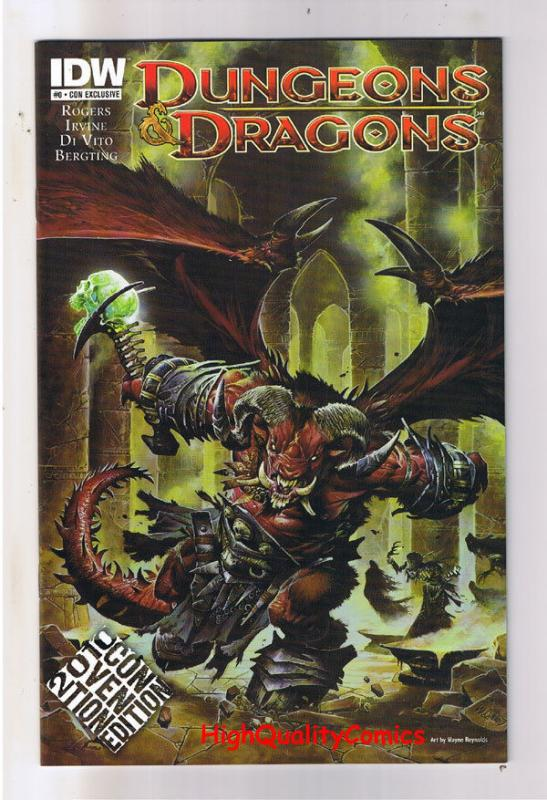 DUNGEONS and DRAGONS #0, NM, Convention Variant, 2010, more Variants in store