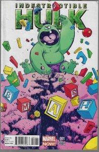 Indestructible Hulk #1 (Marvel, 2013) Skottie Young Baby Variant