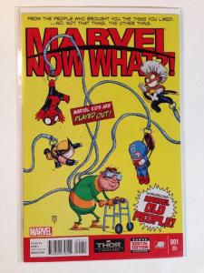 Marvel Now What 1 One shot Skottie Young Variant Near Mint