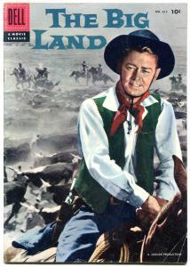 The Big Land- Four Color Comics #812 1957- Alan Ladd VG/F