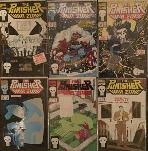 PUNISHER WAR ZONE (MARVEL)#10-15  6 BOOK LOT ALL UNREAD NM CONDITION