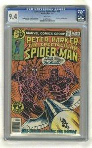 Spectacular Spider-Man #27 - CGC 9.4 - Marvel Comics - 1979 - Frank Miller Art!