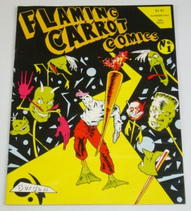 Flaming Carrot Comics #1 signed by bob burden - numbered (3,019 of 6,500)