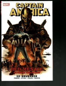 Captain America: Red Menace Ultimate Collection Marvel Comic Book TPB J402