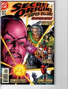 Secret Origins of Super Villians (1999) VF- (7.5)
