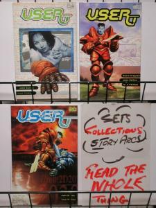 USER (2001 VERTIGO) 1-3  JOHN BOLTON  complete story!