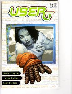 User Book # 1 Of 3 DC Vertigo Comics Graphic Novel Comic Book Sean Phillips AH1
