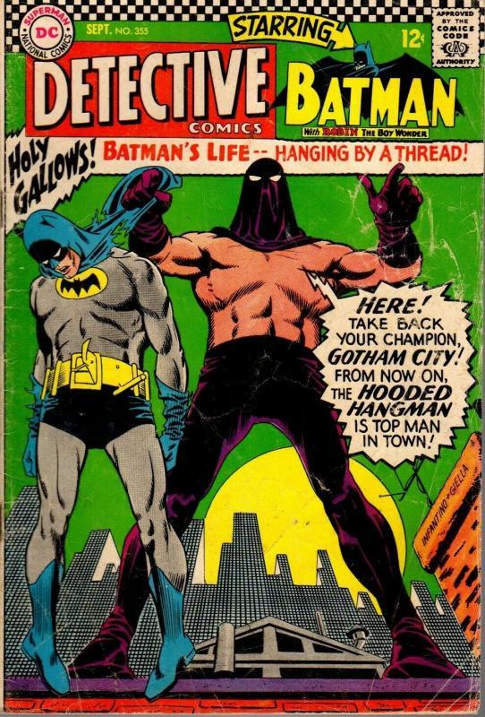 DETECTIVE 355 GOOD September 1966