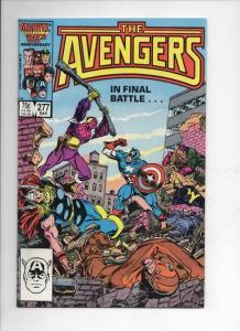 AVENGERS #277, VF/NM, Captain America, Thor, 1963 1987, more Marvel in store
