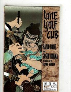 9 Lone Wolf & Cub First Publishing Comics # 11 12 13 14 15 16 17 18 19 SR25