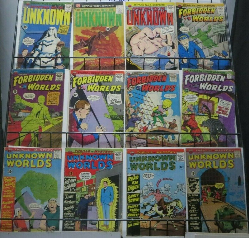 ACG COMICS SAMPLER COLLECTION!  12 books, reader's copies! Ogden Whitney!