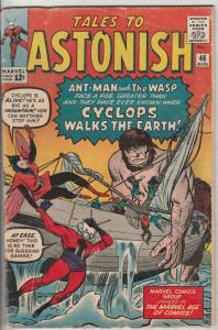 Tales to Astonish #46 (Aug-63) VG+ Affordable-Grade Ant-Man, the Wasp