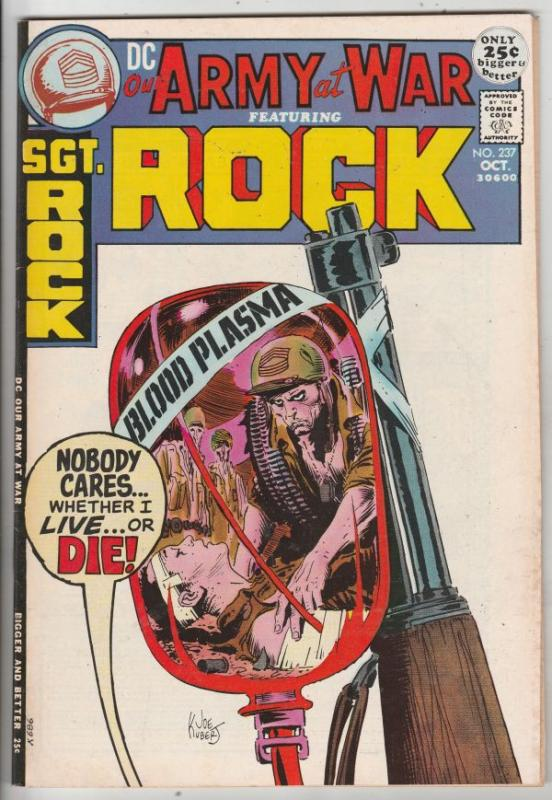 Our Army at War #237 (Oct-71) VF+ High-Grade Easy Company, Sgt. Rock