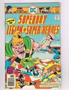 Superboy #217 FN DC Comics Comic Book Legion Of Superheroes Jun 1975 DE42
