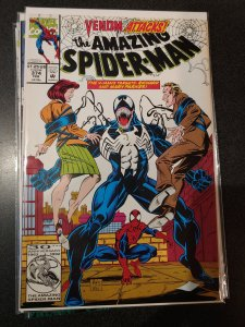 Amazing Spider-Man #374 VENOM ATTACKS VERY HIGH GRADE PARKERS PARENTS NM