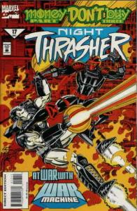 Night Thrasher #17 VF/NM; Marvel | save on shipping - details inside