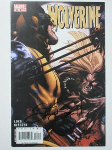 Wolverine (Marvel v3 2007) #54 VS Sabretooth Signed by Simone Bianchi