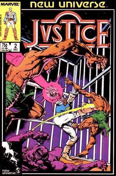 Justice (1986 series) #2, NM (Stock photo)