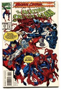 AMAZING SPIDER-MAN #379-MARVEL COMICS-VENOM-CARNAGE