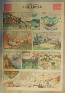 The Little People Sunday by Walt Scott from 10/6/1957 Tabloid Page Size!