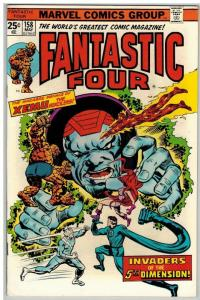 FANTASTIC FOUR 158 VF May 1975