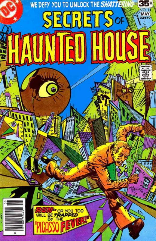 Secrets of Haunted House #11 VG; DC | low grade comic - save on shipping - detai