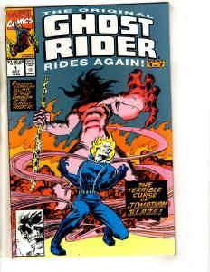 10 Ghost Rider Marvel Comic Books # 1 2 3 4 5 6 7 Crossroads GR Annual #1 2  DB4