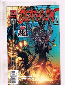 Lot of 2 Deathlok Marvel Comic Books #1 2 DC4