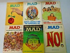 Early 70's MAD Magazine Lot 26 Different (1970-1974)