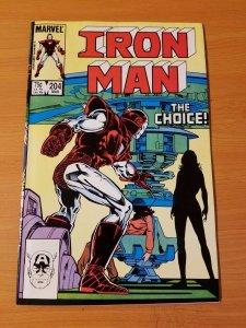 Iron Man #204 ~ NEAR MINT NM ~ 1986 MARVEL COMICS