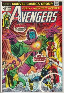 Avengers, The #129 (Nov-74) NM- High-Grade Avengers