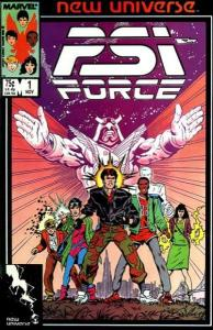 PSI-Force #1, VF+ (Stock photo)