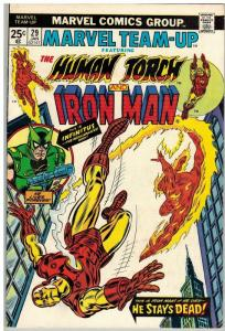 MARVEL TEAM UP 29 FN Jan. 1975
