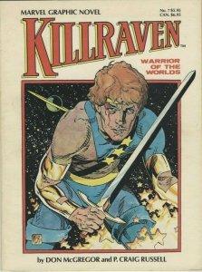 Marvel Graphic Novel No. 7: Killraven, Warrior of the Worlds TPB - Marvel - 1983