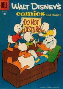 Walt Disney's Comics and Stories #216, Good+ (Stock photo)