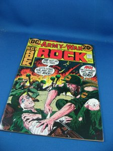 OUR ARMY AT WAR 250 VF KUBERT SGT ROCK 1972