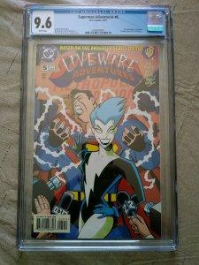 Superman Adventures #5 (1997) CGC 9.6 1st App Livewire