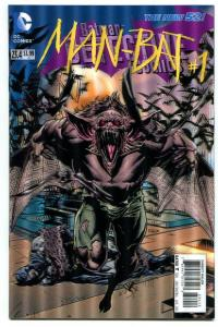 Detective Comics-Batman-#23.4-Man-Bat-#1-3-D Variant-New 52-2nd Print-NM