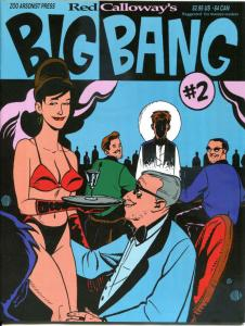 Red Calloway's BIG BANG #1 2 3, NM-, Magazine, 1995, Paul Sharar, Zoo Arsonist