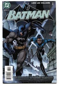 BATMAN #615-JIM LEE-Nightwing cover DC 2003 comic book