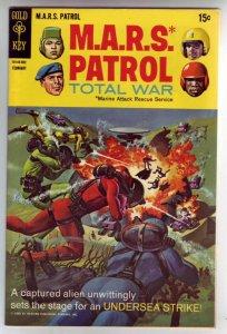 M.A.R.S. Patrol Total War #8 (Feb-69) VF+ High-Grade M.A.R.S. (Sgt. Joe Strik...
