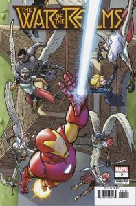War Of Realms #2 International Variant (Marvel, 2019) NM