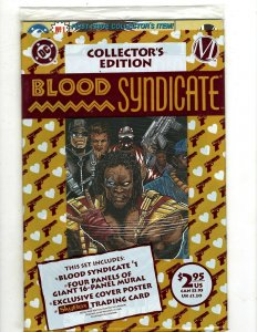 12 Blood Syndicate DC Comics # 1 1 2 3 4 5 6 7 8 9 10 16 Sealed # 1 Collect RB15