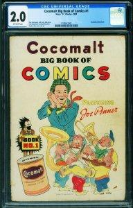 Cocomalt Big Book of Comics #1 CGC 2.0 1938-Jack Cole-2109541001