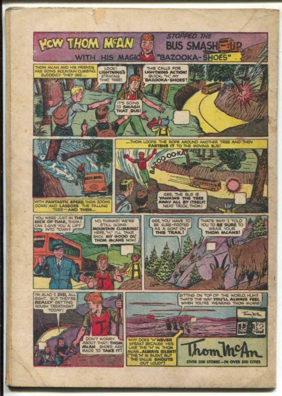 Buzzy #10 1946-DC-early record player cover-teen humor-FN-