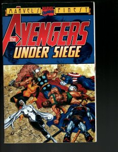 The Avengers: Under Siege Marvel Comic Book TPB Graphic Novel Thor Iron Man J402