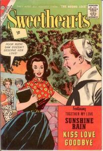 SWEETHEARTS (1954-73 CH) 66 (BRIT ED) F-VF  July 1962 COMICS BOOK